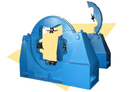 形鋼用万能反転機ヘラクスR-1FT